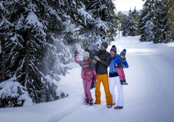 Winterwanderwege, Kreischberg
