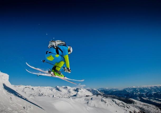 Skiërs in Tauplitz