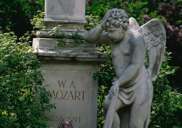 Mozartgrab in Wien