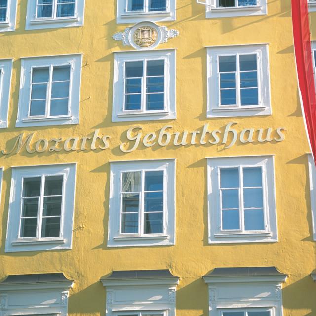 Mozarts Geburtshaus in Salzburg