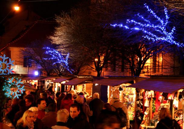 Christmas market at Spittelberg