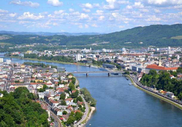 Linz - panorama miasta