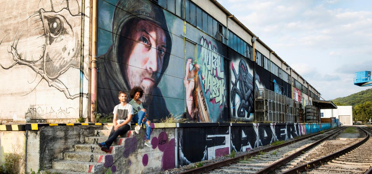 Mural Harbor Galerie Linz