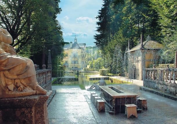 Så ikke glip af Hellbrunn fontænerne
