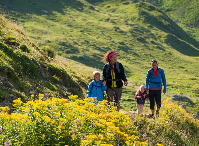 Familienurlaub in Vorarlberg