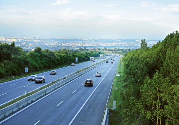 Autobahn, Wien Panorama