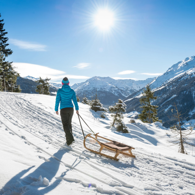 Rodeln in Tirol