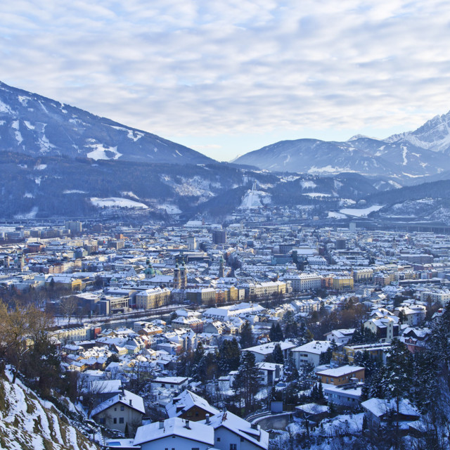 Innsbrucki panoráma