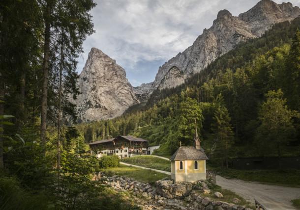 Hinterbärenbad im Kaisertal