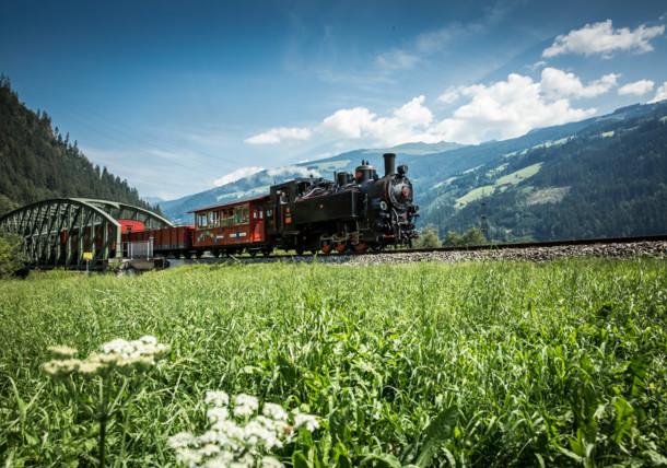 Steam train Zillertal