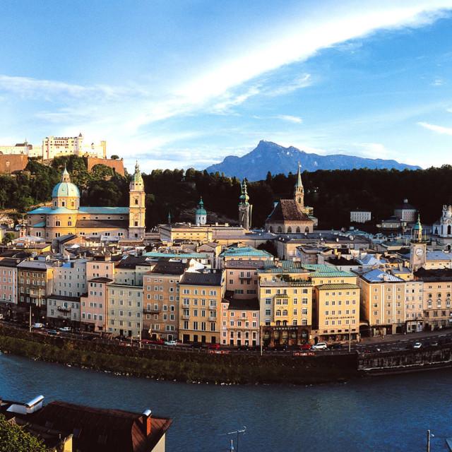 Panorama Salzburg Stadt
