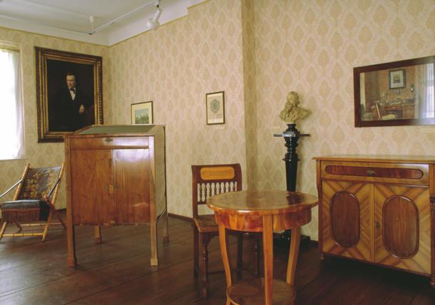 Johannes Brahms Gedenkraum / im Haydnhaus