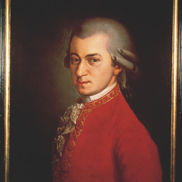 W.A. Mozart Gemälde / B. Kraft
