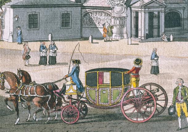 Kutsche um 1790