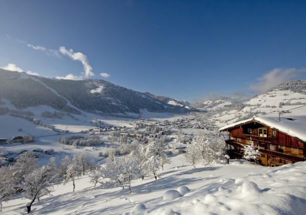 Winter scenery in Wildschönau