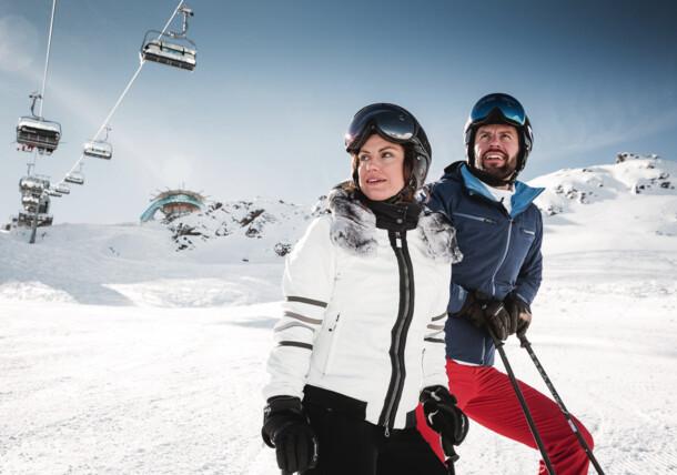 Skiing in Ötztal