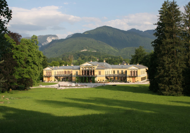 Det kejserliga palatset i Bad Ischl