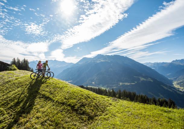 Mountainbiking in the Montafon