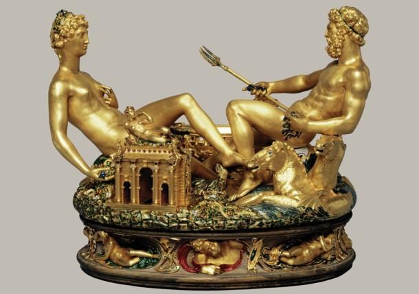 Saliera im Kunsthistorischen Museum Wien