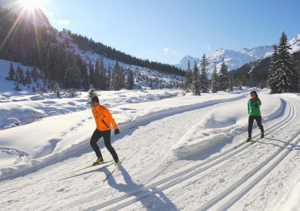 Běh na lyžích v Rakousku