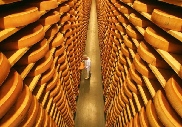 Cheese cellar in Lingenau, Bregenzerwald