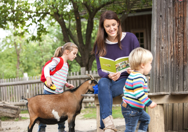 Ein tierisches Vergnügen so ein Urlaub mit der GenussCard/Tierpark Herberstein