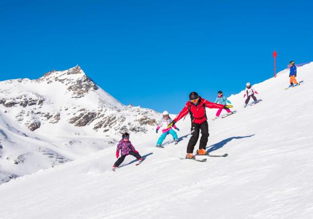 Skischule für die Kleinen