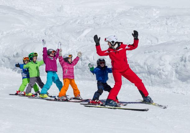 Dětský lyžařský kurz ve Schladmingu