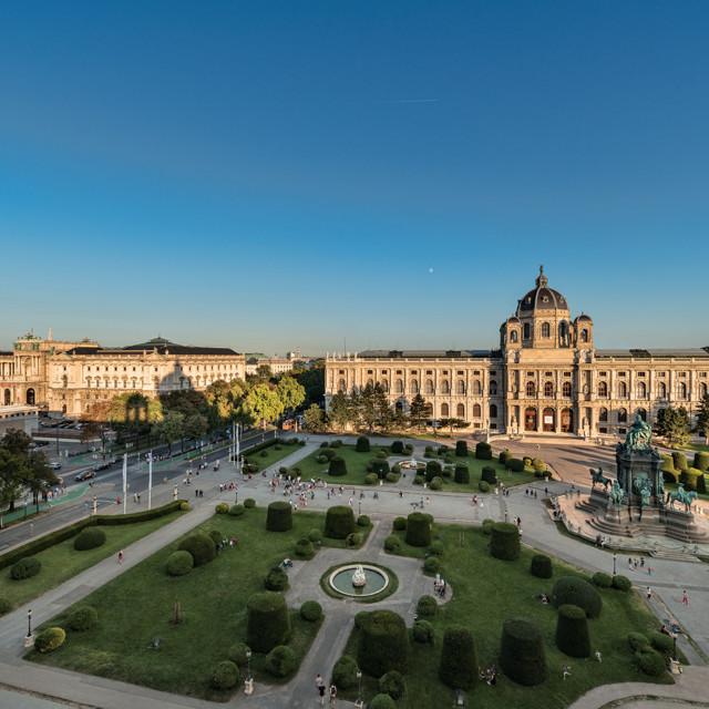 Kunsthistorisches Museum Wien - Aussenansicht