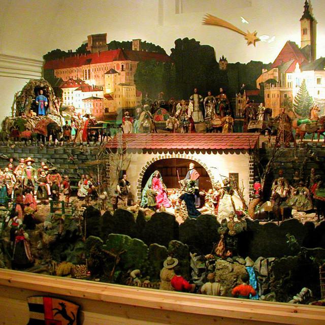 Lamberg'sche Krippenfiguren  im Stadtmuseum in Steyr