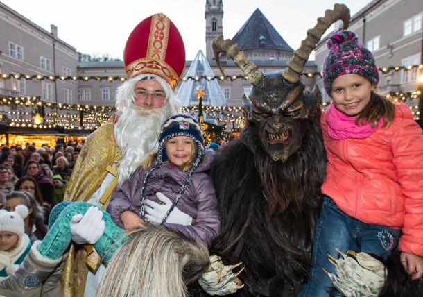 Salzburg - Nikolaus and Krampus tradition