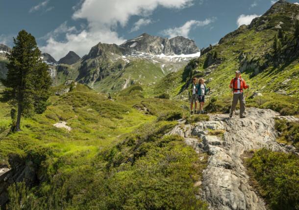 Wandelen in Tirol in Oostenrijk
