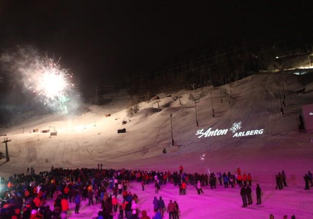 Ski Show in St. Anton
