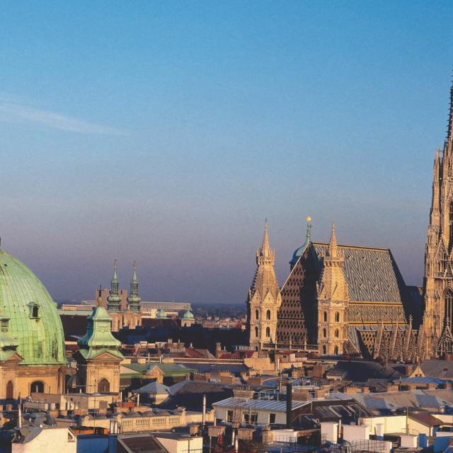 Wien, Stephansdom und Peterskirche
