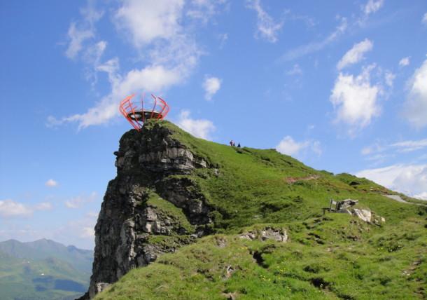 Aussichtsplattform Glocknerblick in Bad Gastein