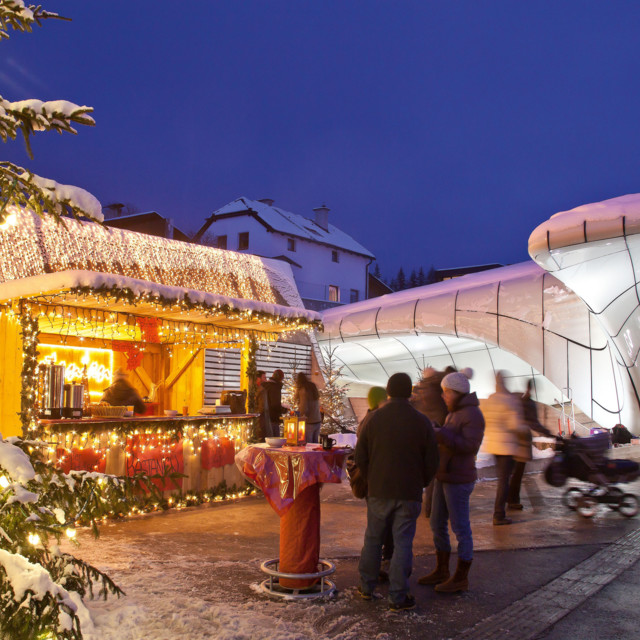 Adventmarkt in Innsbruck