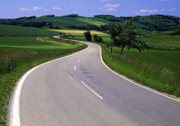Straße in Niederösterreich