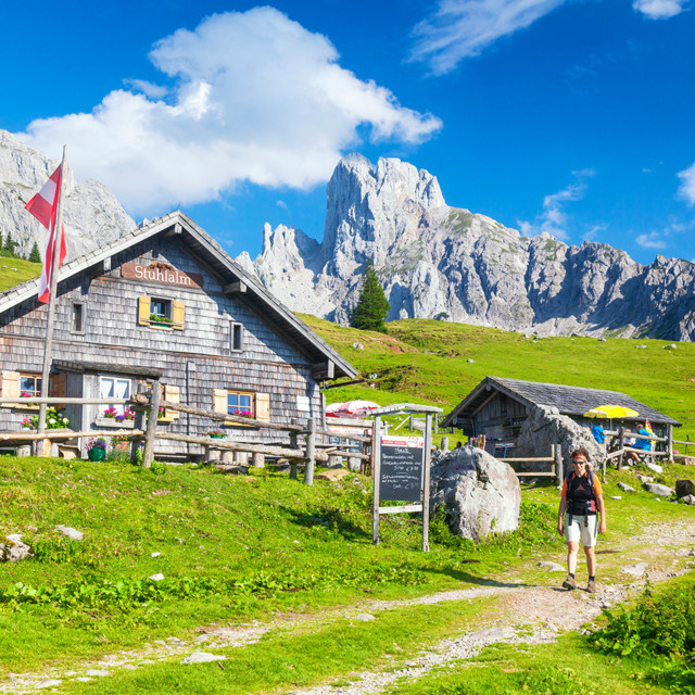 Wandern im Lammertal (Salzburger Land)