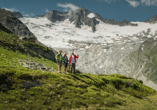 Hiking in Zillertal, Tirol