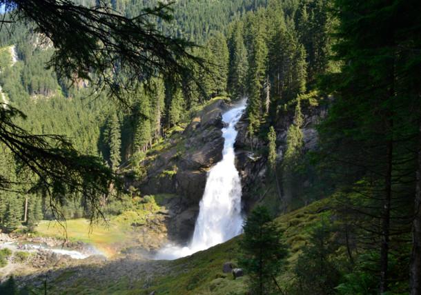 National Park Hohe Tauern - Krimmler Cascades