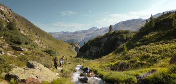 Adlerweg im Ötztal
