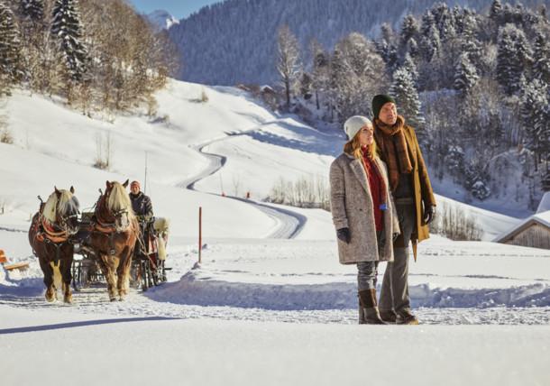 Winterzauber in Österreich