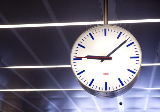 ÖBB Bahnhofsuhr