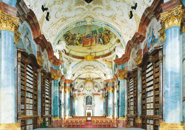 Knjižnica samostana Altenburg, Waldviertel
