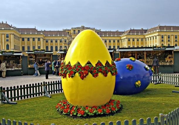 Easter Market Schönbrunn Palace