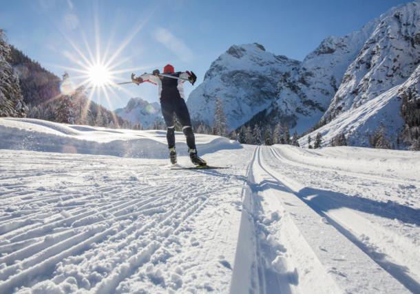 """Závod na běžkách """"3Täler Lauf"""" - """"Běh přes 3 údolí"""", Achensee, Tyrolsko"""