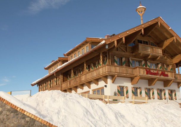 Marierl-Alm in inverno