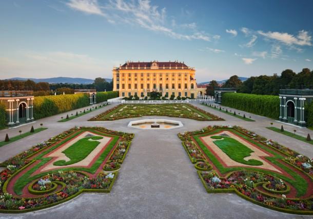 Schloss Schönbrunn - Kronprinzengarten