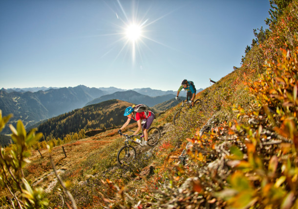 Mountainbiking in Flachau