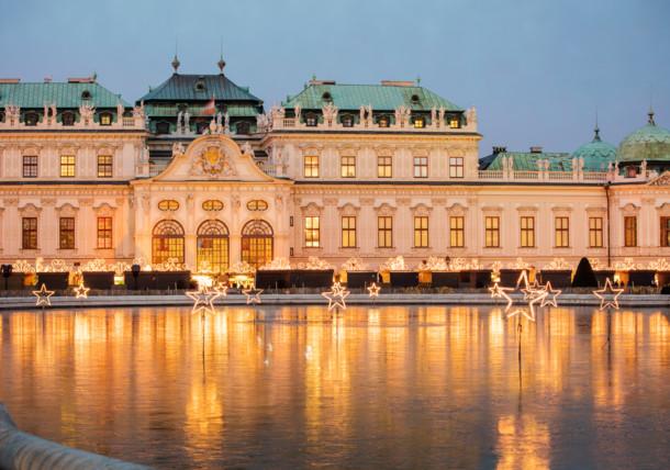 Mercado de Navidad en el Palacio del Belvedere